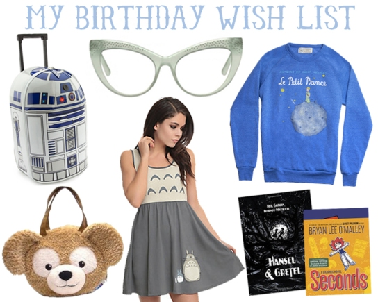 birthday wish list 2015