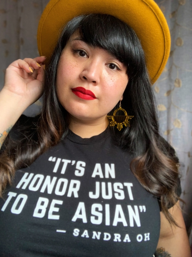 it's just an honor to be asian t-shirt sandra oh